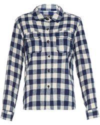 A.P.C. Girl Gingham Shirt - Lyst