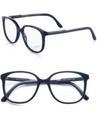 Stella McCartney Round Optical Glasses - Lyst