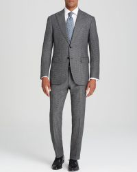 Canali Taormina Micro Houndstooth Suit  Classic Fit - Lyst