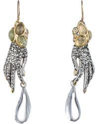 Alexis Bittar Jardin Mystã¨Re Jeweled Hand Earring - Lyst