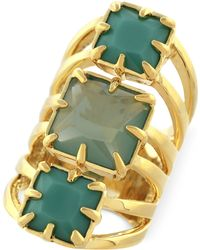 Vince Camuto - Gold-Tone Drama Ring - Lyst
