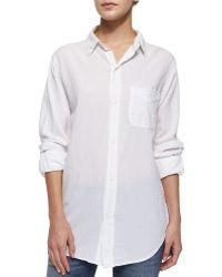 Current/Elliott T The Prep School Shirt - Lyst