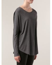 Vince Draped Top - Lyst