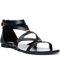 Steve Madden Comma Faux Leather Sandals - Lyst