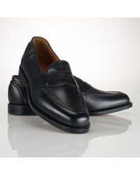 Polo Ralph Lauren Calf Singleton Penny Loafer - Lyst