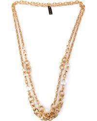 Gerard Yosca - Double Necklace - Lyst