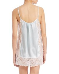In Bloom | Satin & Lace Chemise | Lyst