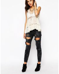 One Teaspoon Freebird Jeans In Vintage Black - Lyst