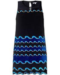 Diane von Furstenberg Blue Joan Dress - Lyst