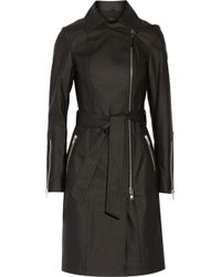 Mackage Eugenia Coated Stretch-cotton Trench Coat - Lyst