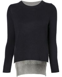 Chinti & Parker | Contrast Back Sweater | Lyst