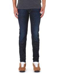 Diesel Sleenker Skinny-fit Tapered Jeans L32 - Lyst
