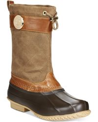 Tommy Hilfiger Women's Arcadia Duck Boots - Brown