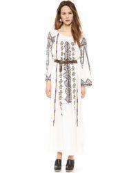 Antik Batik Tolata Embroidered Dress - Lyst