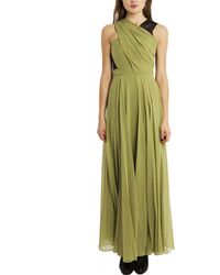 3.1 Phillip Lim Asymmetric Draped Gown - Lyst