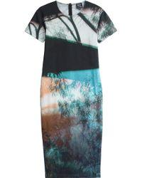 McQ by Alexander McQueen Photo Printed Sheath Dress - Lyst