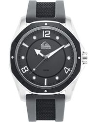 Quiksilver - 'the Mariner' Silicone Strap Watch - Lyst