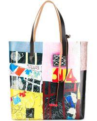 Marni - Printed Shopper Tote - Lyst
