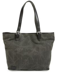 TOMS - 'vacationer' Linen Tote - Lyst