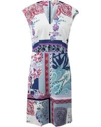 Etro Paisley Print Dress - Lyst