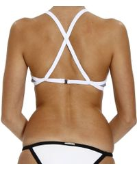 Mauro Grifoni Beachwear Fantasy Triangle Bikini Swimwear - Black