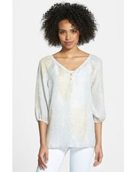 Tommy Bahama Pineapple Paisley Top - Lyst