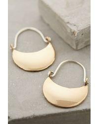 Winifred Grace | Crescent Moon Earrings | Lyst
