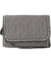 Stella McCartney Quilted Clutch - Lyst