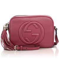 Gucci Soho Leather Disco Bag - Lyst
