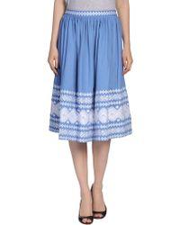 Suno 34 Length Skirt - Lyst