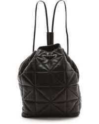 Milly Avery Backpack Black - Lyst