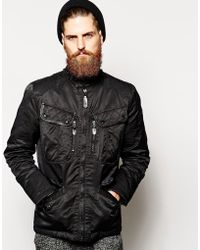 Schott Nyc Motorcycle Jacket - Lyst