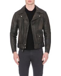Ralph Lauren Modbury Leather Jacket - Lyst