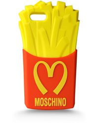 Moschino Iphone Holder - Lyst