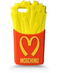 Moschino Iphone Holder - Lyst