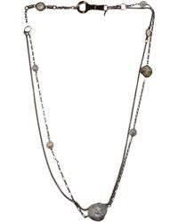 Beth Orduna - Pearl Double Chain Link - Lyst