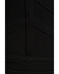 Stretta - Basic Katrina Vneck Tank Dress in Black - Lyst