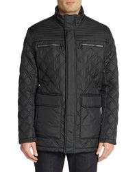 Marc New York By Andrew Marc Quilted Field Jacket - Lyst