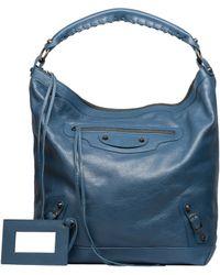 Balenciaga Blue Classic Day - Lyst