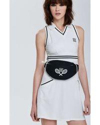 Nasty Gal - Vintage Chanel Black Sport Tennis Fanny Pack - Lyst
