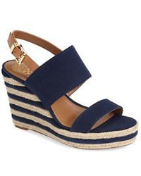 Vince Camuto 'Loran' Wedge Sandal - Lyst