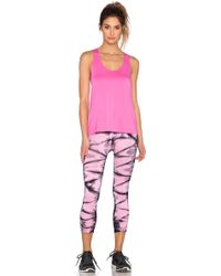 Nux Exhale Tank In Pretty - Pink