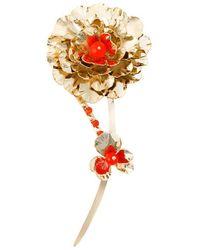 Rosantica - Flower Brooch - Lyst