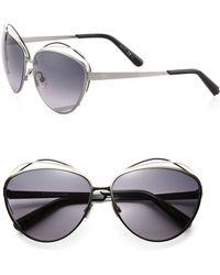 Dior Songe 62mm Round Sunglasses - Lyst