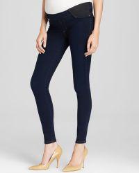 James Jeans Maternity Jeans  Twiggy Legging in Blue Velvet - Lyst
