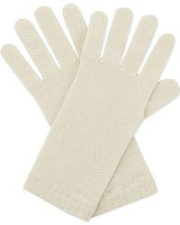 Pringle of Scotland - Solid Short Gloves - Lyst