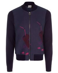 Paul Smith Trash Mouse Jacquard Cotton-Blend Bomber Jacket - Lyst