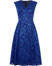 Pied a Terre   Lace Full Skirt Dress   Lyst