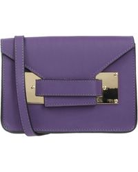 Pierre Darre' Handbag - Purple