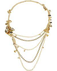 Elie Saab Necklace - Metallic